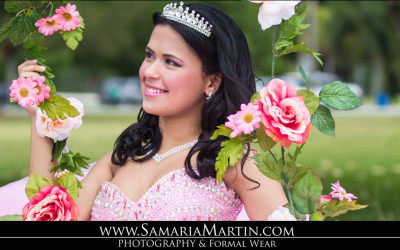 Miami Spring Golf & Country Club Quinceanera Photo Shoot